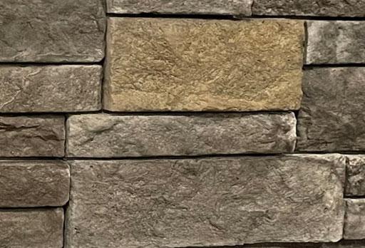 copper stone siding color
