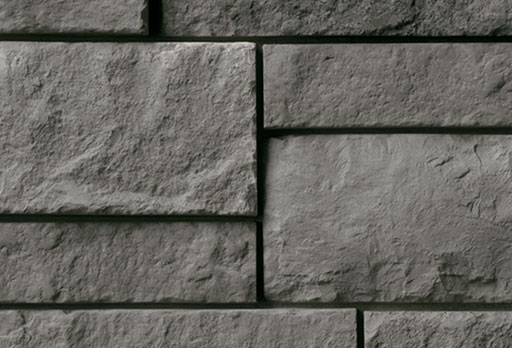 dark gray stone veneer color