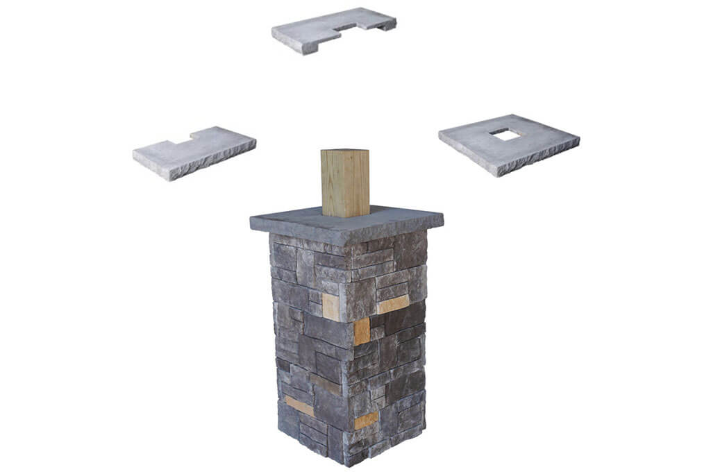 The Best Stone Veneer Column Wraps to Install
