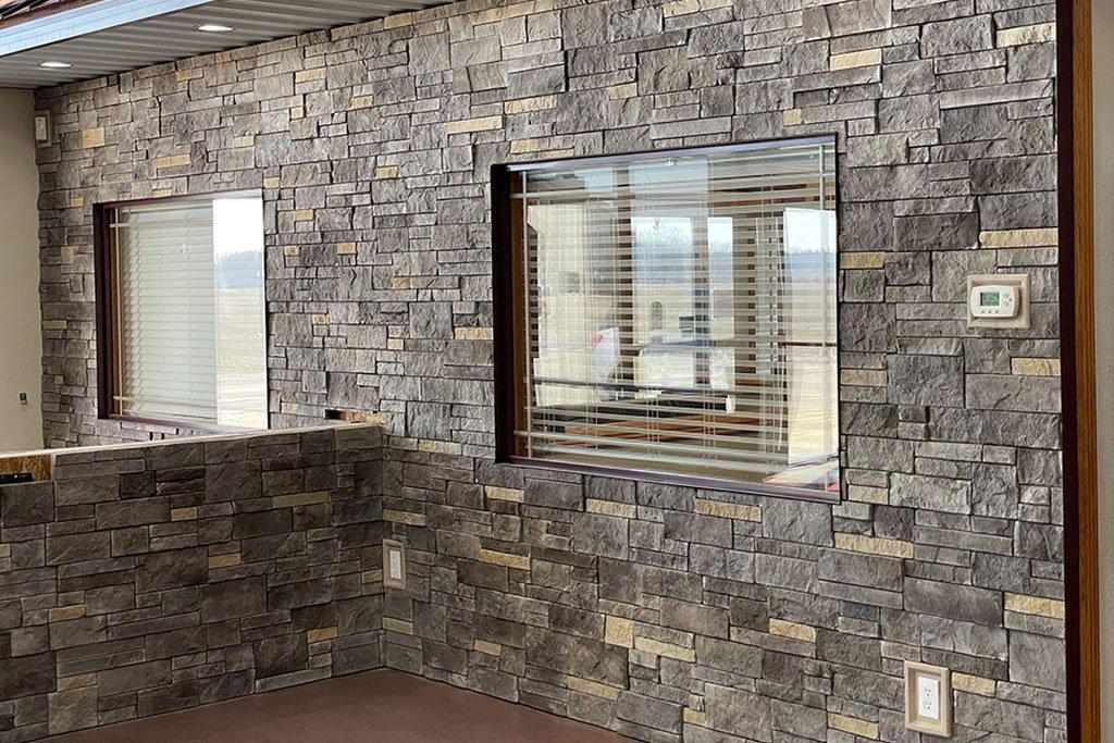 screw on stone panels for interior
